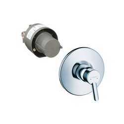 Hansgrohe Focus S Single Lever Shower Mixer Set for concealed installation DN15 | Shower taps / mixers | Hansgrohe