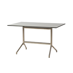 Avenue dining table | Cafeteria tables | Cane-line