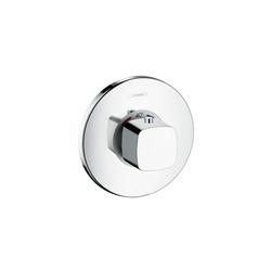 "Hansgrohe Metris Metris set esterno termostatico ad incasso a grande portata DN20 (3/4"") | Rubinetteria per vasche da bagno | Hansgrohe"