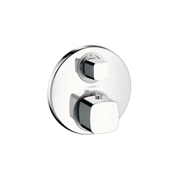 Hansgrohe Metris Ecostat E Thermostat for concealed installation with shut-off|diverter valve | Bath taps | Hansgrohe