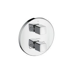 Hansgrohe Metris iControl, sistema ad incasso con valvola d'arresto e deviatore DN20 | Rubinetteria per vasche da bagno | Hansgrohe