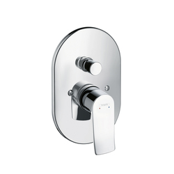 Hansgrohe Metris Single Lever Bath Mixer for concealed installation | Bath taps | Hansgrohe