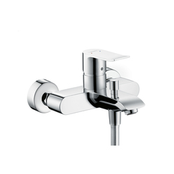 Hansgrohe Metris Single Lever Bath Mixer DN15 for exposed fitting | Bath taps | Hansgrohe