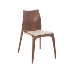Flow chair | Visitors chairs / Side chairs | Plycollection
