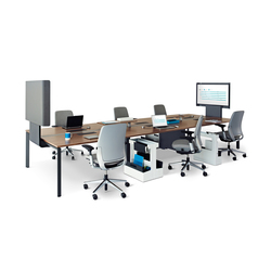 FrameOne Bench with media:scape | Multimedia conference tables | Steelcase