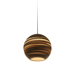 Moon14 Natural Pendant | Illuminazione generale | Graypants