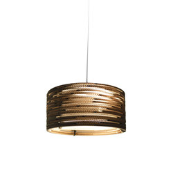 Drum18 Natural Pendant | Suspensions | Graypants
