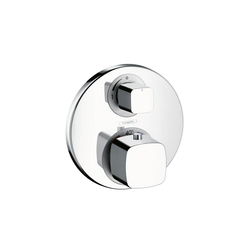 Hansgrohe Metris Ecostat E Thermostat for concealed installation with shut-off valve | Shower taps / mixers | Hansgrohe