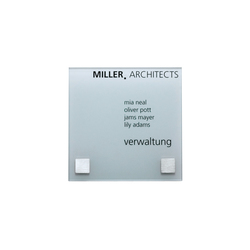 Square 16 x 16 | Room signs | keilbach
