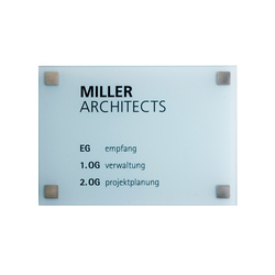 Square A4 | Room signs | keilbach