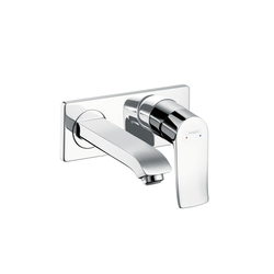 Hansgrohe Metris Single Lever Basin Mixer DN15 for concealed installation with spout 165 mm | Wash-basin taps | Hansgrohe