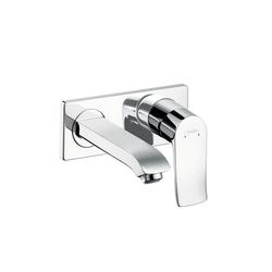 Hansgrohe Metris Miscelatore monocomando a parete per lavabo DN 15 165 mm | Rubinetteria per lavabi | Hansgrohe