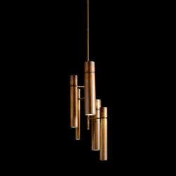 Tubular Light | Pendelleuchten aus Metall | HENGE