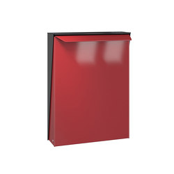Letterbox | S-box | steel | Boîtes aux lettres | Serafini