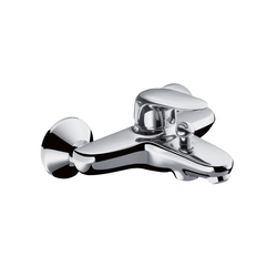 Hansgrohe Metris E Single Lever Bath Mixer DN15 for exposed fitting | Bath taps | Hansgrohe