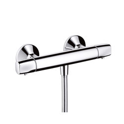 Hansgrohe Metris E Ecostat E Thermostatic Shower Mixer for exposed fitting DN15 | Shower taps / mixers | Hansgrohe
