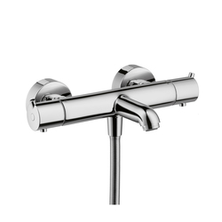 Hansgrohe Metris S Ecostat S Thermostatic Bath Mixer for exposed fitting DN15 | Bath taps | Hansgrohe