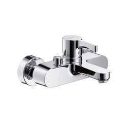Hansgrohe Metris S Single Lever Bath Mixer for exposed fitting DN15 | Bath taps | Hansgrohe