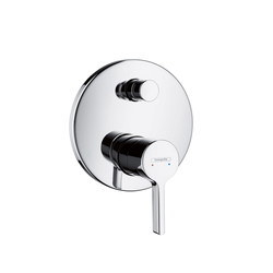 Hansgrohe Metris S Single Lever Bath Mixer for concealed installation with integrated security combination according to EN1717 | Bath taps | Hansgrohe