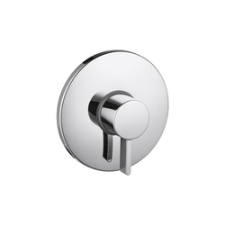 Hansgrohe Metris S Finish Set Modern Pressure Balance Shower Mixer | Bath taps | Hansgrohe