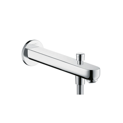 Hansgrohe Metris S Bath Filler 228mm with Diverter | Bath taps | Hansgrohe