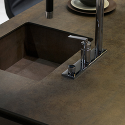 Sink | Iron Moss | Ceramic panels | Neolith