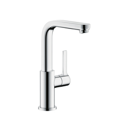 Hansgrohe Metris S Single Lever Basin Mixer DN15 swivel spout with 120° range | Wash-basin taps | Hansgrohe