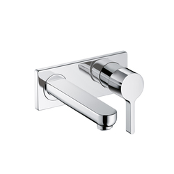 Hansgrohe Metris S Single Lever Basin Mixer DN15 for concealed installation with spout 165mm | Wash-basin taps | Hansgrohe