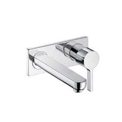 Hansgrohe Metris S Single Lever Basin Mixer DN15 for concealed installation with spout 225mm | Wash-basin taps | Hansgrohe