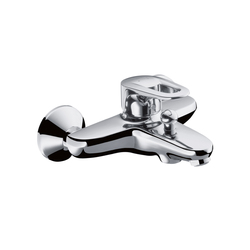 Hansgrohe Metropol E Single Lever Bath Mixer DN15 for exposed fitting | Bath taps | Hansgrohe