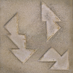 Pictorial pavements | Vassily Kandinsky | Concrete/cement floor tiles | Santa & Cole