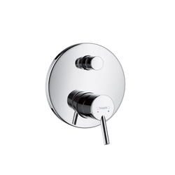 Hansgrohe Talis Single Lever Bath Mixer for concealed installation with integrated security combination according to EN1717 | Bath taps | Hansgrohe