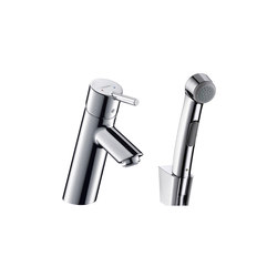 hansgrohe Talis Bidette 1jet hand shower/ Talis single lever basin mixer set 1.60 m | Bidet taps | Hansgrohe