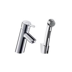 Hansgrohe Talis Mezclador monomando de lavabo con teleducha de bidé | Grifería para bidés | Hansgrohe