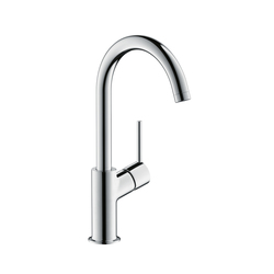 Hansgrohe Talis Single Lever Basin Mixer DN15 swivel spout 120° range | Wash-basin taps | Hansgrohe