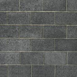 Basalt schwarz, geflammt | Slabs | Metten