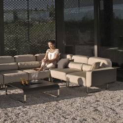 Fold sectional sofa | Garden sofas | Royal Botania
