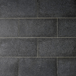 Basalt schwarz Platten, geflammt | Lastre | Metten