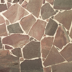Quarz-Porphyr Polygonalplatten, spaltrau | Lastre pietra naturale | Metten