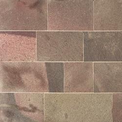 Quarz-Porphyr Platten, spaltrau oder geflammt | Lastre pietra naturale | Metten