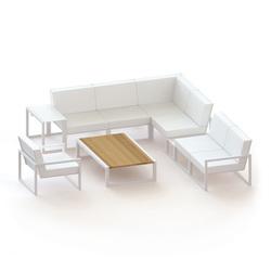 Ninix modular lounge | Garden sofas | Royal Botania