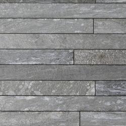 Valser Quarzit Steinparkett in 6-8 cm Breite, samtiert® | Lastre pietra naturale | Metten