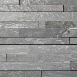 Valser Quarzit Steinparkett in 10-12 cm Breite, samtiert® | Tiles | Metten