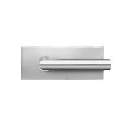 Glass door fitting EGS 110 | Lever handles for glass doors | Karcher Design