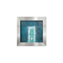 Wasserbild Edelstahl Gate | Interior fountains | art aqua
