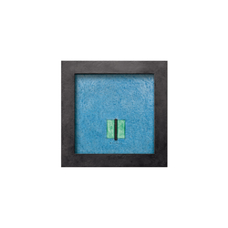 Wasserbild Stein Balk | Fontane da interni | art aqua