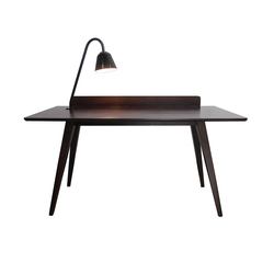 Blake Table (with back-piece and Light) | Desks | Eleanor Home