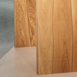 Piano tavolo Rovere con intarsio noce | Piani per tavoli | Boleform