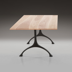 Tabletop Walnut with maple inlay | Tabletops | Boleform
