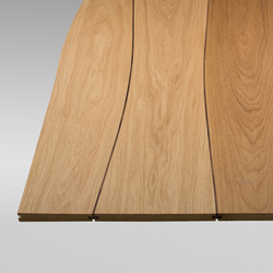 Solid surface Oak with walnut inlay  | Facing panels | Boleform